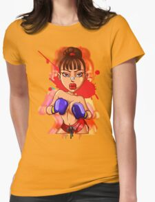 Knock! Crank Girls Womens Fitted T-Shirt