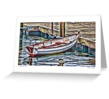 Gloucester Dinghy Greeting Card