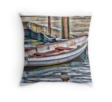 Gloucester Dinghy Throw Pillow