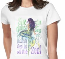 Mermaid : Profound Depths Womens Fitted T-Shirt
