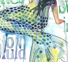Mermaid : Profound Depths Sticker