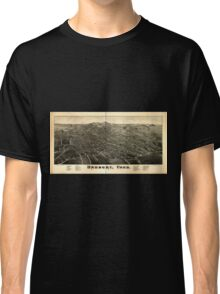 Panoramic Maps Danbury Conn Classic T-Shirt