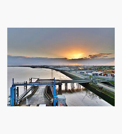 Leaving Hull Photographic Print