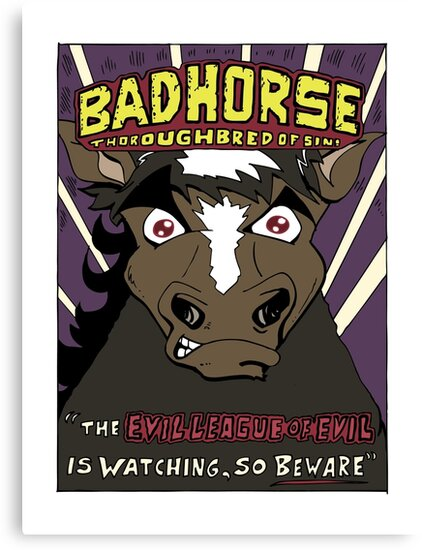 BAD HORSE by Brian Belanger