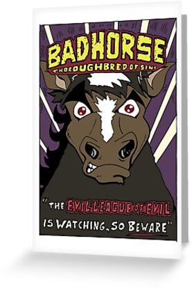 BAD HORSE by Brian Belanger