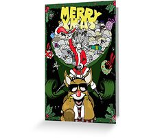 Merry Xmas Greeting Card
