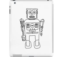 Colour in Robot B/W iPad Case/Skin