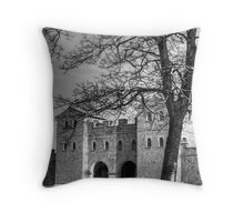 Arbeia Roman Fort Throw Pillow