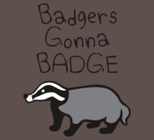 Badgers Gonna Badge One Piece - Short Sleeve