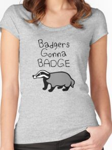 Badgers Gonna Badge Women's Fitted Scoop T-Shirt