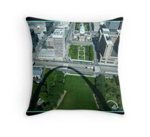 The Arch of St. Louis Throw Pillow