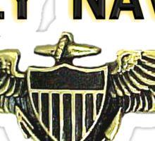 Naval Aviator Wings Sticker