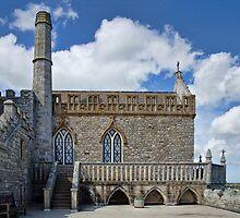 14th Century Priory Church ~ St Michael's Mount by Susie Peek