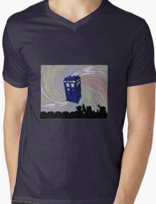 Movie time! Mens V-Neck T-Shirt