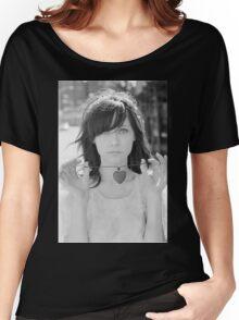 Zooey Deschanel Women's Relaxed Fit T-Shirt