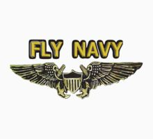 Naval Flight Officer Wings Baby Tee