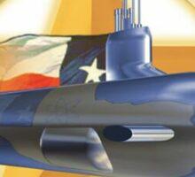 USS Texas SSN-775 Sticker