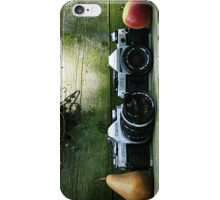 Old 35 mm Cameras and Fruit iPhone Case/Skin