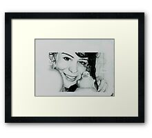 La Fresh Framed Print