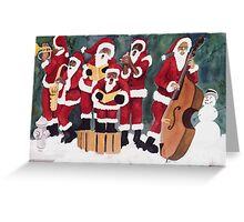 Christmas Jazz Greeting Card