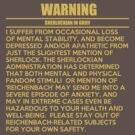 WARNING: Sherlockian in grief  by cumberqueen