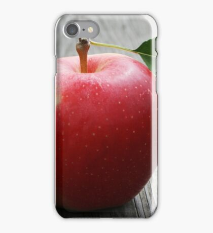 A large red apple iPhone Case/Skin