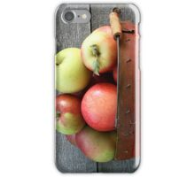 A large basket of red apples iPhone Case/Skin