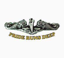 Pride Runs Deep: Submariner Dolphins Baby Tee