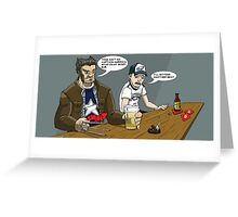 Ain't no Captain America Star Greeting Card