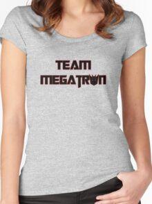 Team Megatron (black) Women's Fitted Scoop T-Shirt