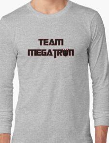 Team Megatron (black) Long Sleeve T-Shirt