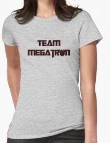 Team Megatron (black) Womens Fitted T-Shirt