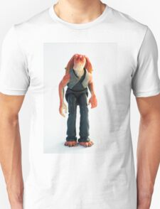 Jar Jar Star wars action figure Unisex T-Shirt