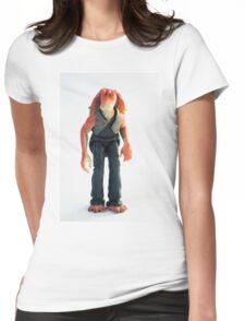 Jar Jar Star wars action figure Womens Fitted T-Shirt