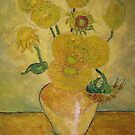 Sun Flowers. by Tim  Duncan