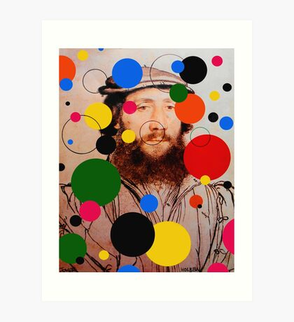 Holbein with spots Art Print