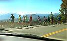 I Brake For the Bicyclists' Break by waddleudo