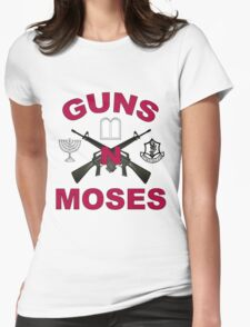 Guns 'n Moses Womens Fitted T-Shirt