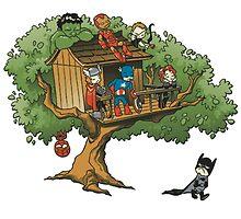 Batman And The Avengers by TheOnlyMonkey