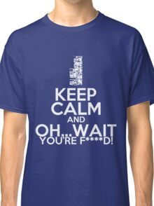 Pokemon, Missingno Keep Calm Classic T-Shirt