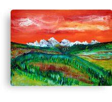 Lingering Light Canvas Print