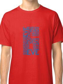 Eve 6 Typography Shirt - Blue Classic T-Shirt