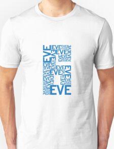 Eve 6 Typography Shirt - Blue Unisex T-Shirt