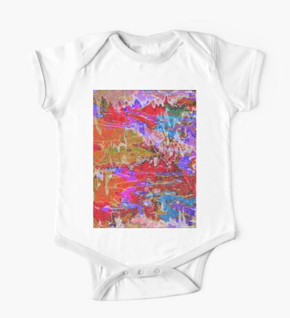 1087 Abstract Thought One Piece - Short Sleeve