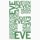 Eve 6 Typography Shirt - Green by printskeep