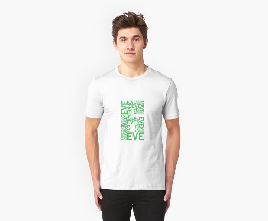 Eve 6 Typography Shirt - Green by printskeep
