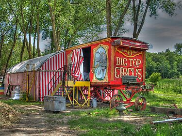 Big Top Circus by Jimmy Ostgard