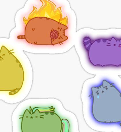 Emotion Cats Sticker
