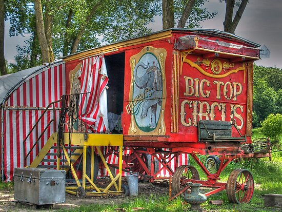 Big Top Circus II by Jimmy Ostgard