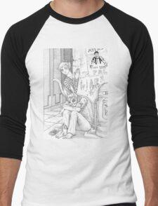 sad splicer Men's Baseball ¾ T-Shirt